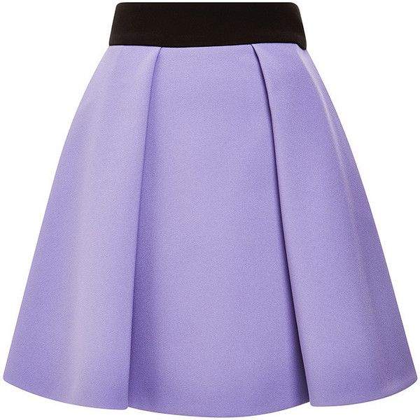Fausto Puglisi Lilac Skirt (€1.460) ❤ liked on Polyvore featuring skirts, purple skirt, pleated skirt, a line skirt, pleated a line skirt and purple pleated skirt