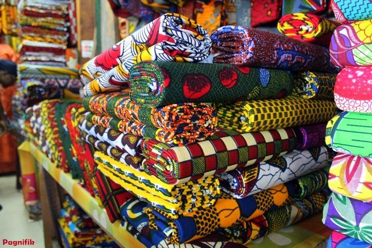 Le marché du pagne à Abidjan en 2013 Pagnifik 55