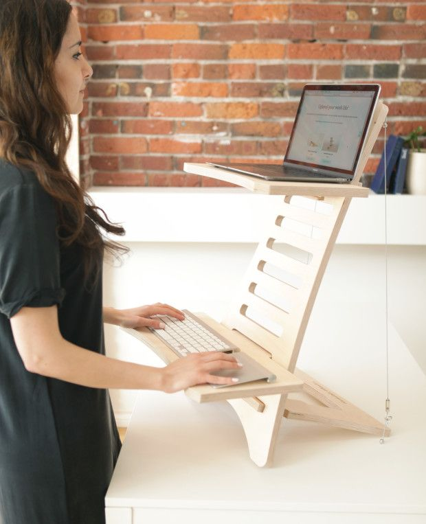 simple adjustable portable standing
