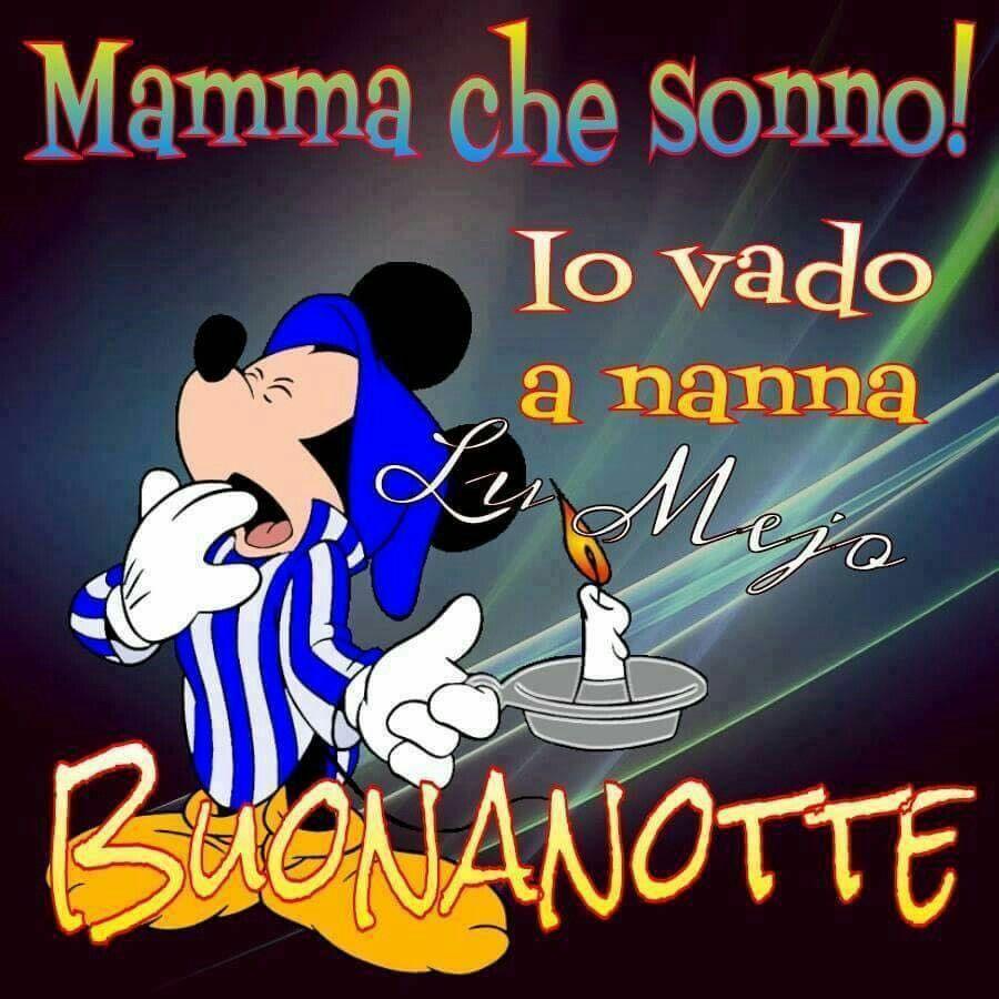 Che Sonnobuonanotte Buona Notte Pinterest Good Night Night