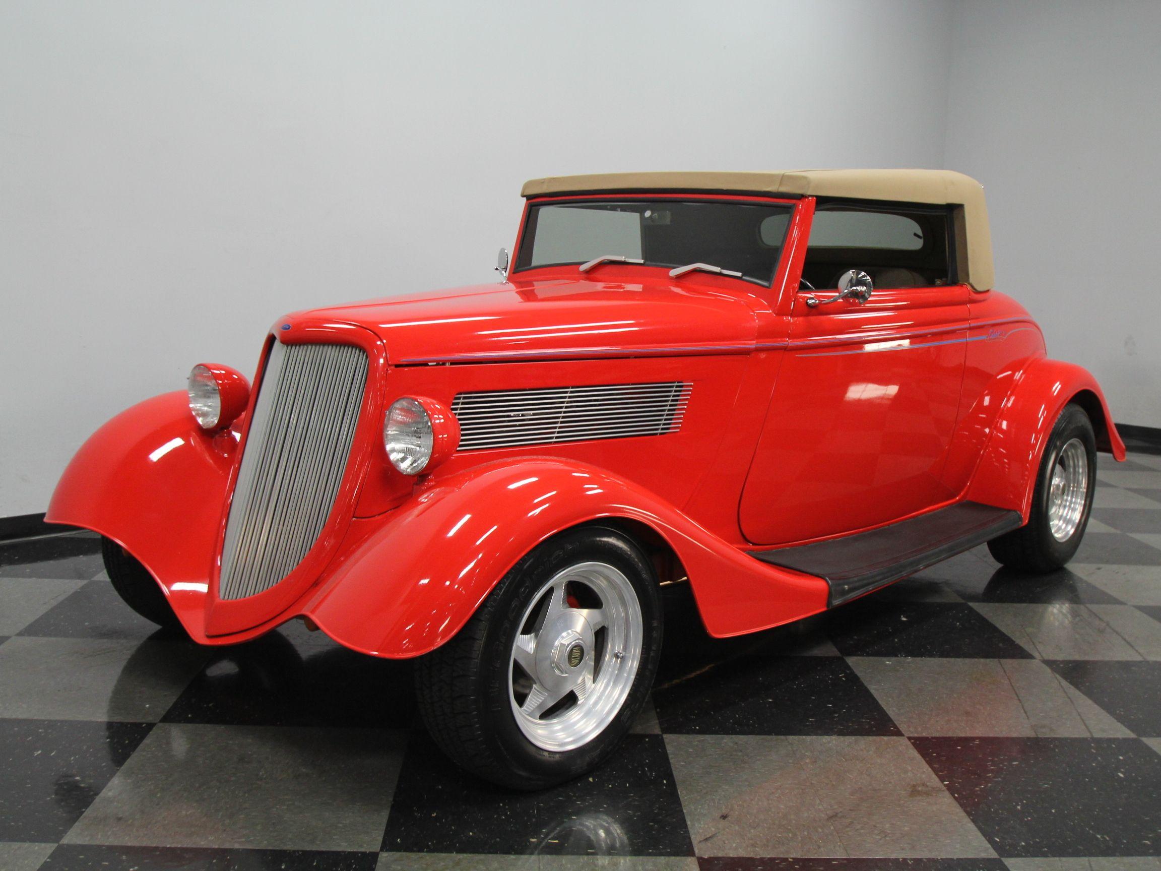 custom hot rod designs   1934 Ford Roadster   Streetside Classics ...
