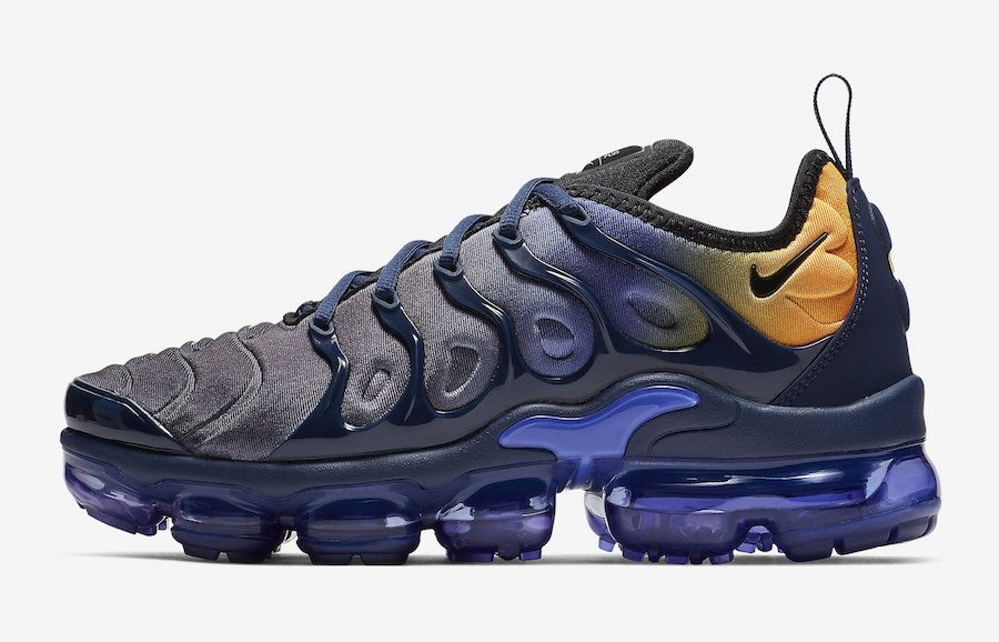 6ec5099b09530 Nike Air VaporMax Plus Blue Orange AO4550-500 Release Date ...