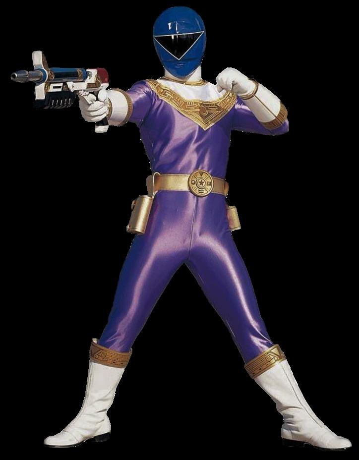 Zeo Blue Ranger Transparent! by CamoFlauge Ranger