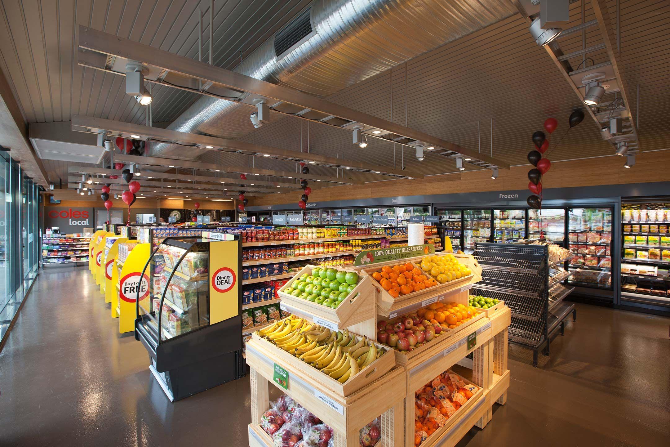 Coles Local Ashburton Vic Amazing Convenience Store Design Design Interiors Pinterest