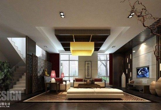 Room Modern Asian Interior Design Minimalist