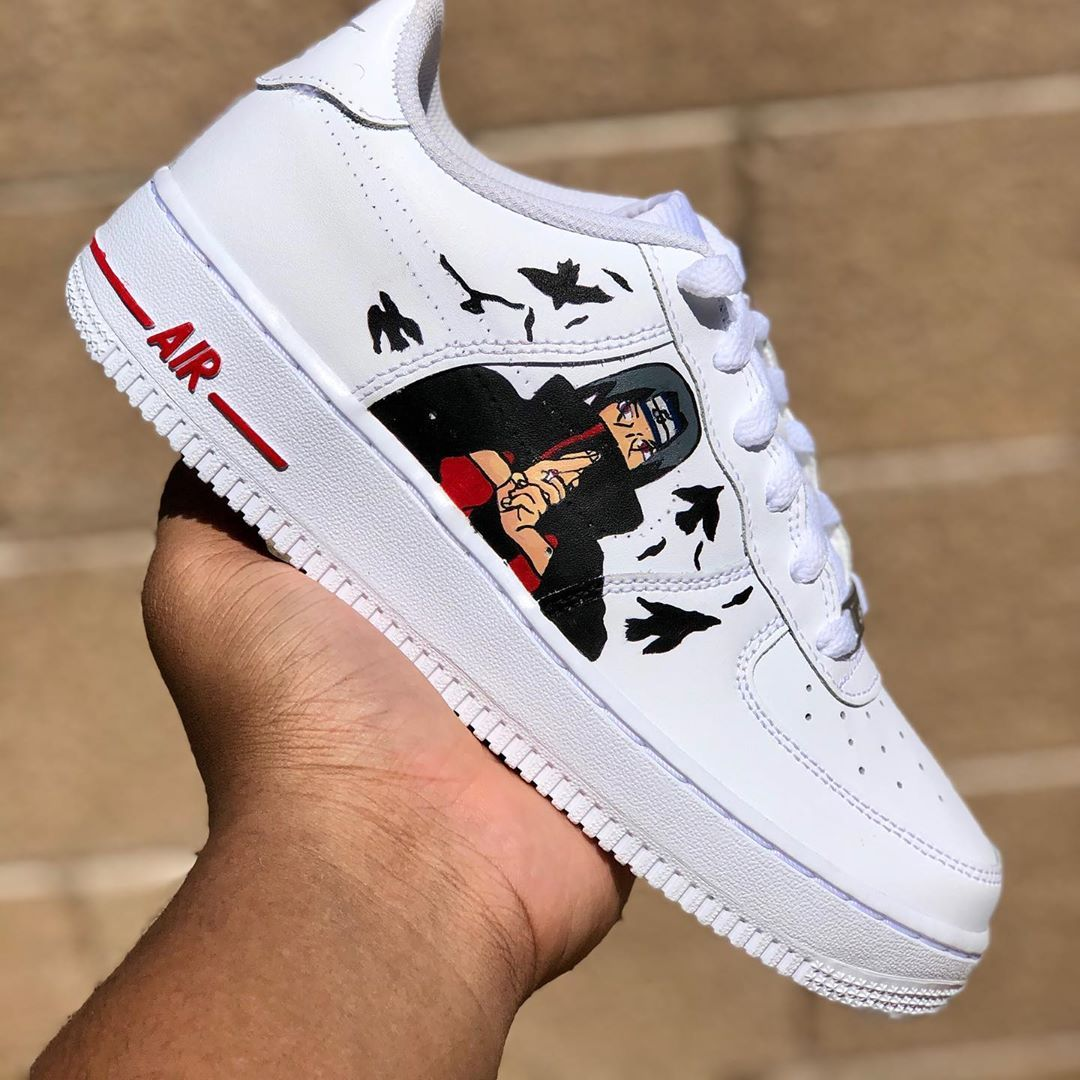 Behind the scenes by mwavycustoms in 2020 custom shoes