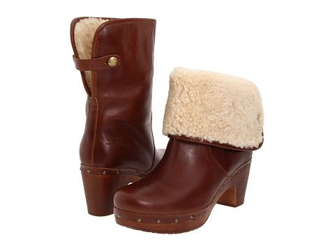 84b59b2f32 Ugg clog boots...got them for Christmas in black. Now trying to curb my  compulsion to go buy these brown ones.