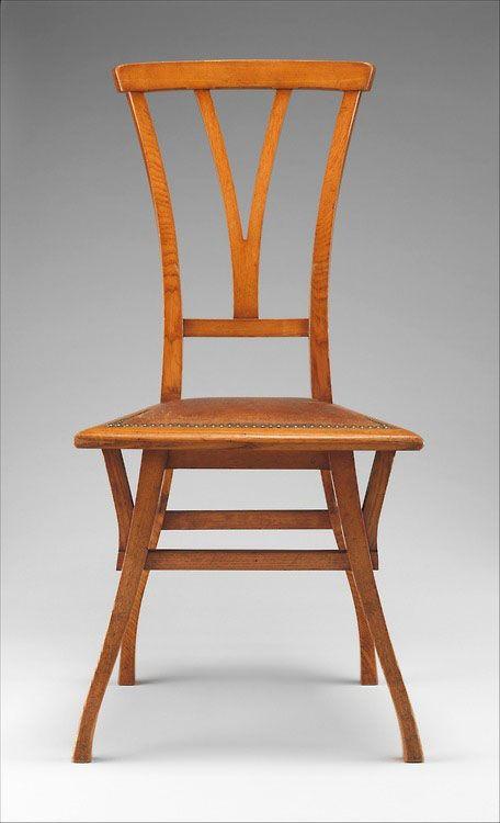 henry van de velde chair from haus bloemenwerf 1895 design pinterest jugendstil. Black Bedroom Furniture Sets. Home Design Ideas