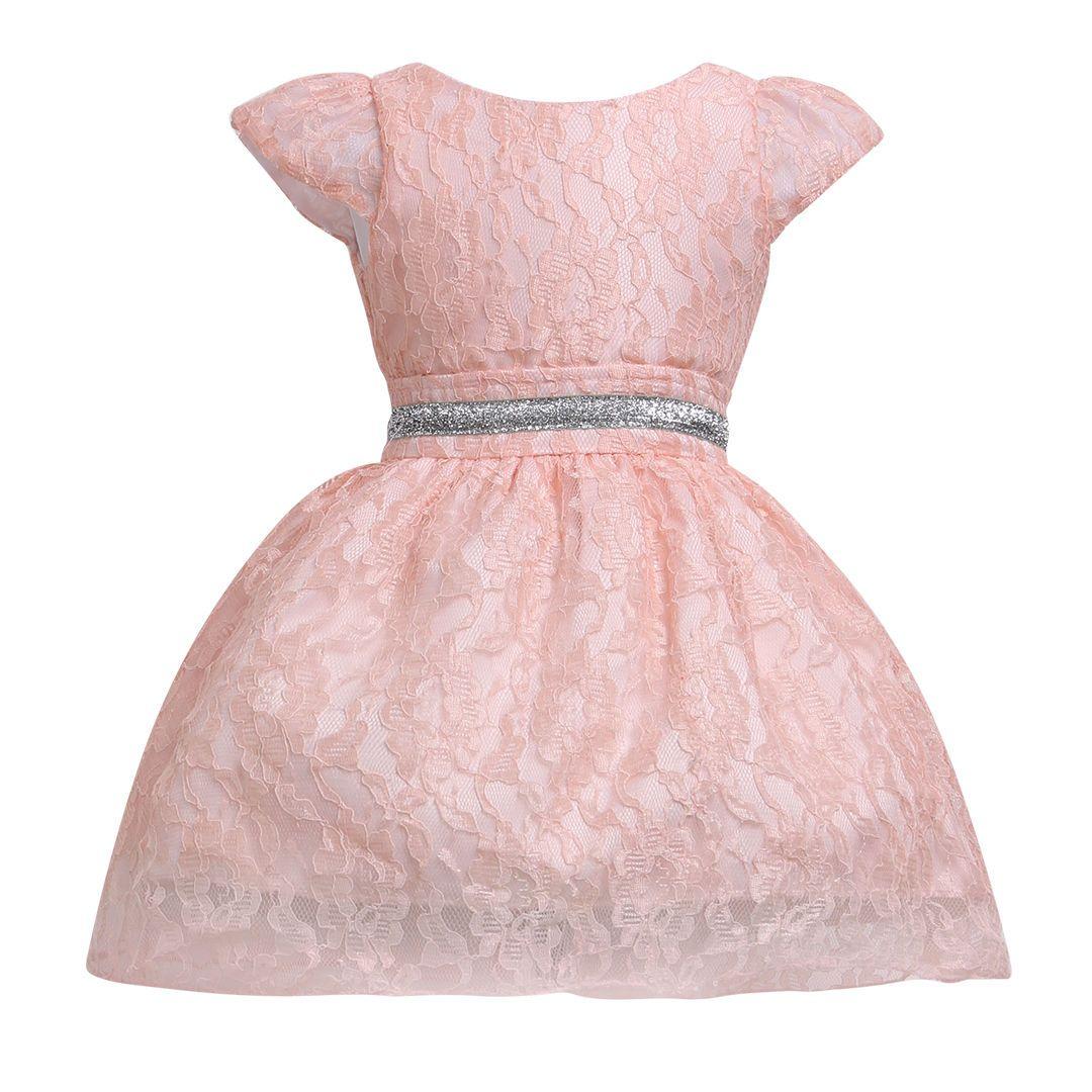 Princess party children garments wedding formal gown cute love