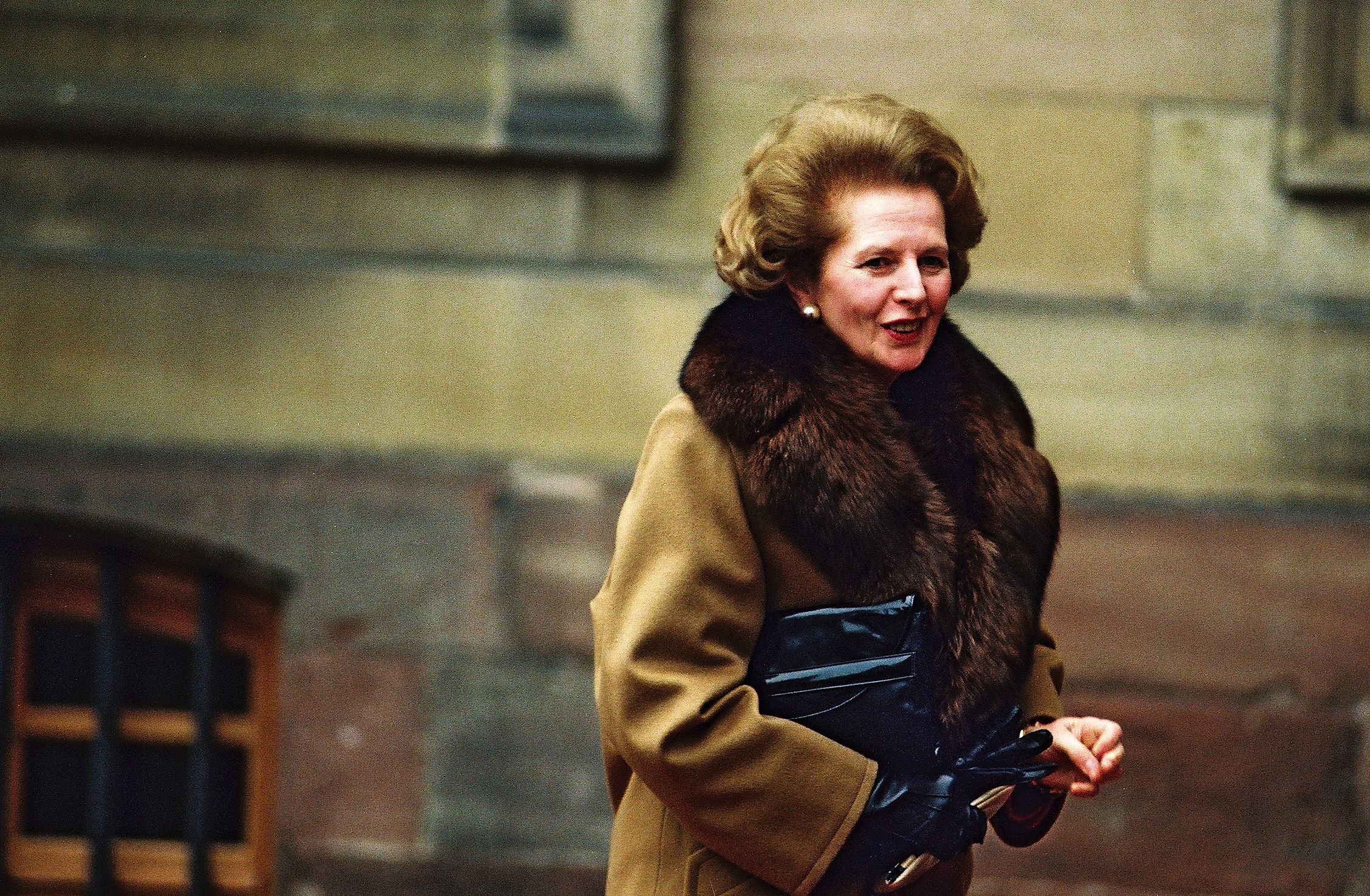A Force of Nature :) (With images)   The iron lady, Coat, Thatcher