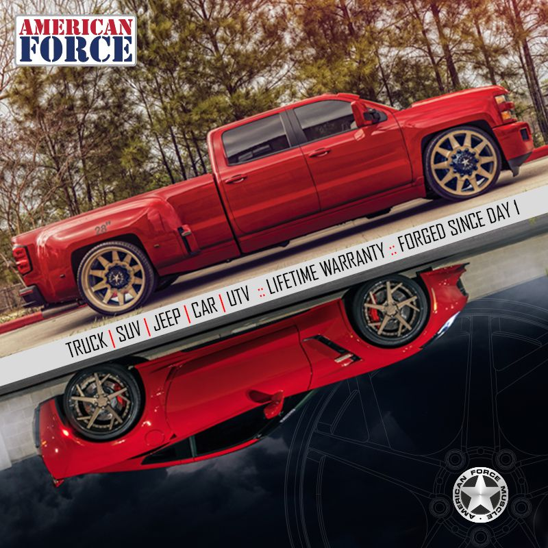 Wheels For All Your Toys Custom Forged Aluminum Wheels Made In Miami Florida American Force Wheels Pickup Trucks Chevy Trucks Chevy Pickup Trucks