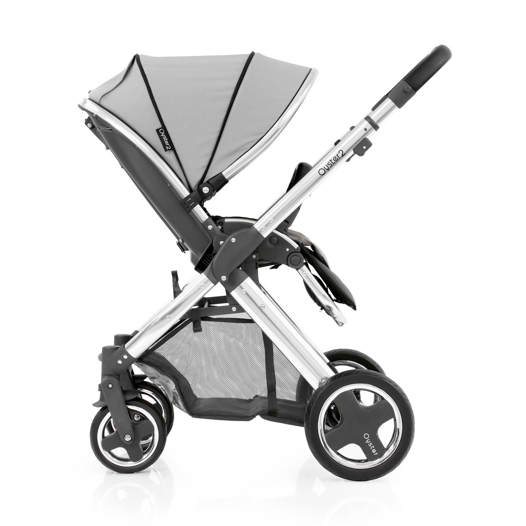 Babystyle Oyster 2 Pushchair with Silver Colour Pack