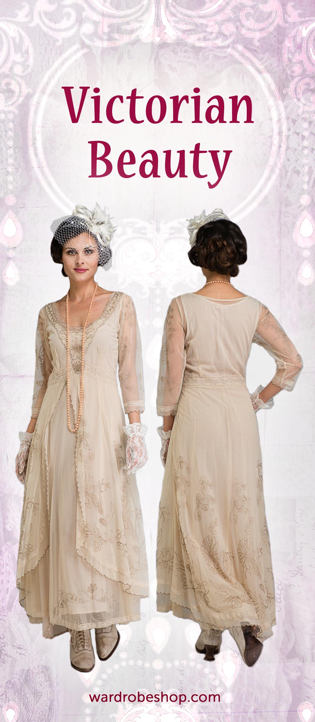 Nataya Romantic Vintage Style Dresses   Vintage Inspired Wedding ...
