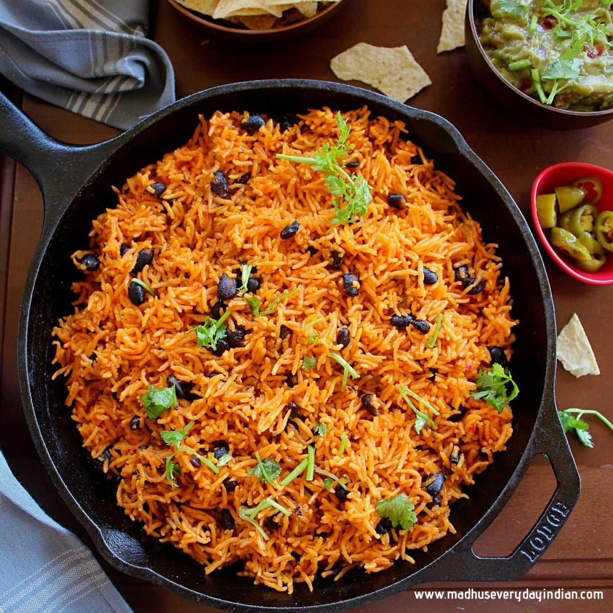 Instant Pot Puerto Rican Rice And Beans Recipe Vegetarian Instant Pot Easy Rice Recipes Rice And Beans Recipe