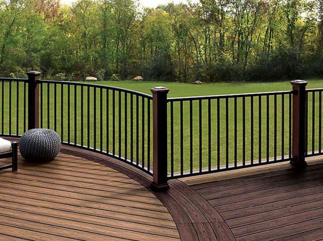 Best 9 Gorgeous Wood Deck Railing Options Collection 400 x 300