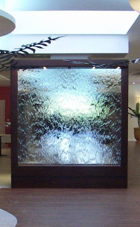Murs d\u0027eau Lames d\u0027eau Dalles d\u0027eau Fontaines à bulles - fontaine a eau d interieur