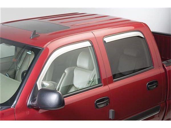 Putco Element Chrome Window Visors Gmc Accessories Chevrolet Accessories Visors