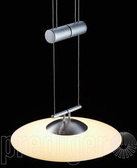 Vector Tavolo 2 Luna Led Grande Duo Glas Creme Trafo Rechteckig Ldm Prediger Led Led Lampe Lichtquelle