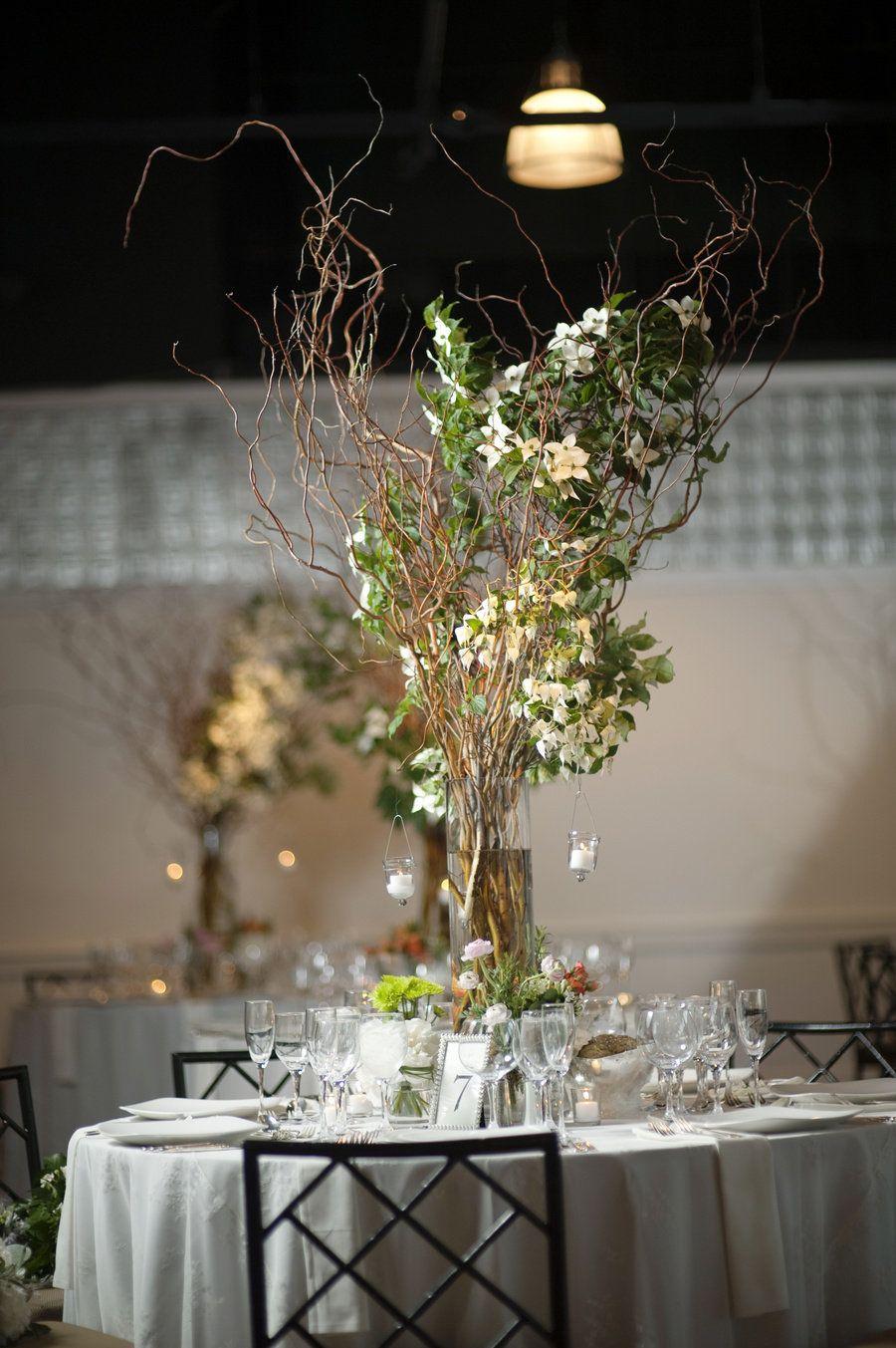 Wedding decoration ideas centerpieces  Chelsea Piers Wedding by Justin u Mary  Floral designs Weddings