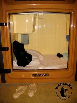 Japan // Tokio - Asakusa Kapsel Hostel: Der Einstieg in die Kapsel