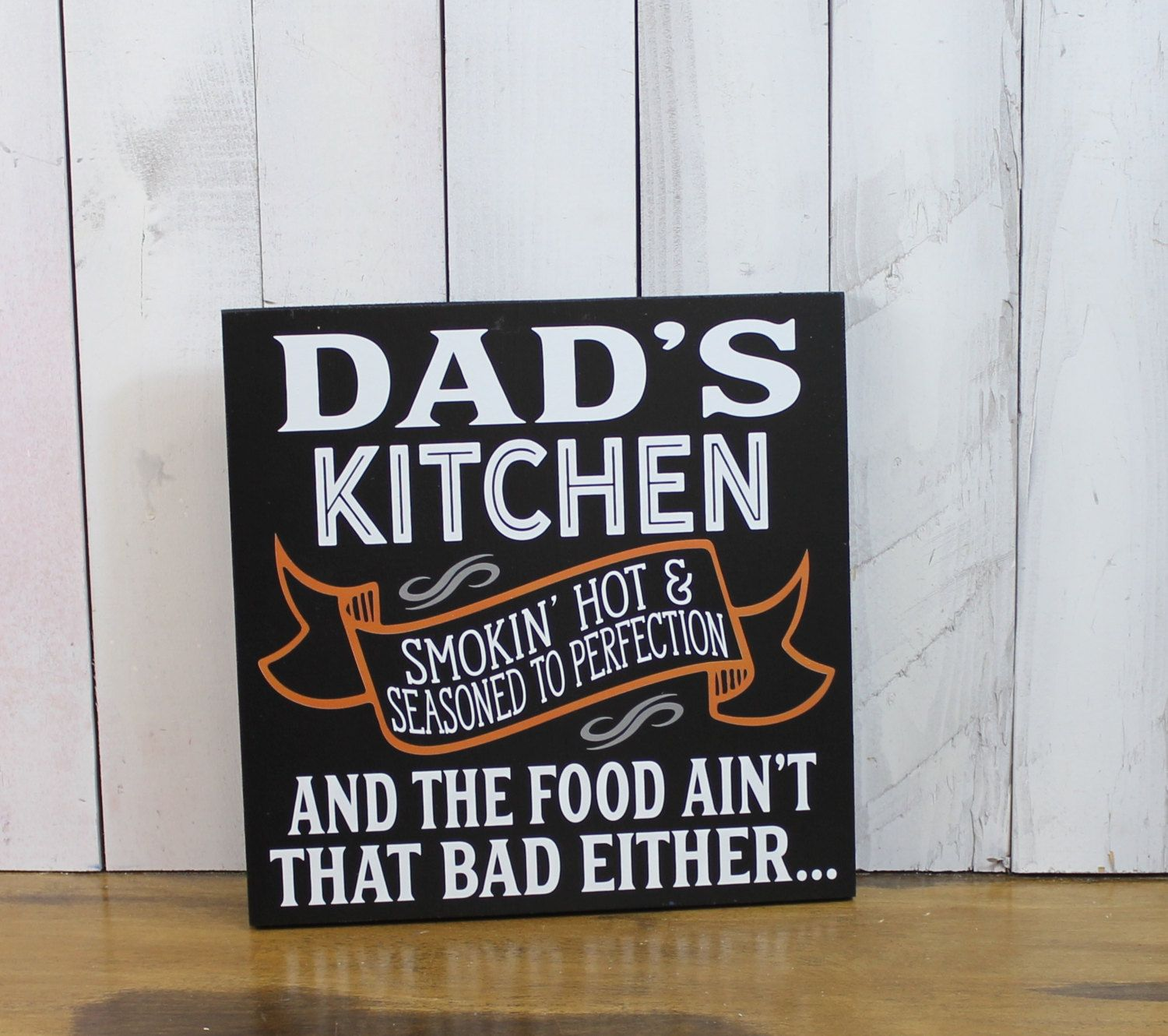 Still Time Christmas DAD\'s Kitchen Sign/Sign/Humorous sign/Smokin ...