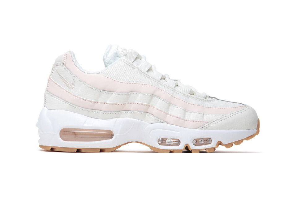 cd182e3edc3 Nike s New Air Max 95 Gets the Light Pink Candy Stripe Treatment in ...