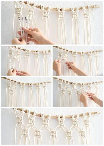 Interior: Super Easy DIY Macrame Wall Hanging Tutorial