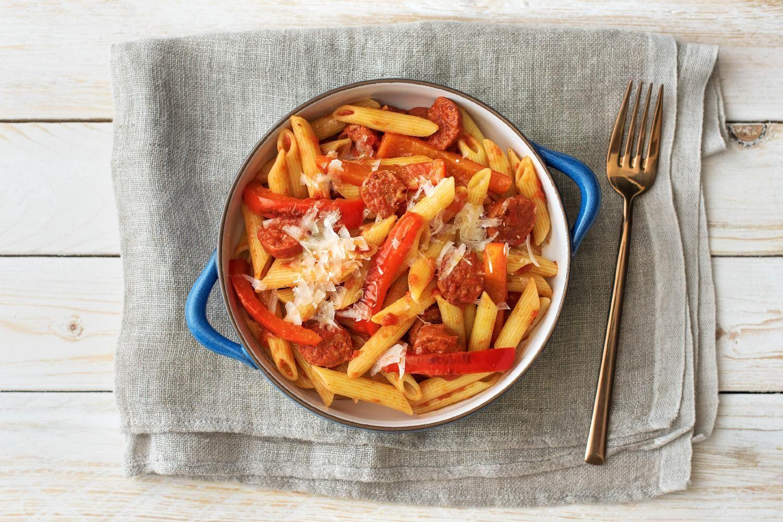 Verschärft: Tomaten-Penne