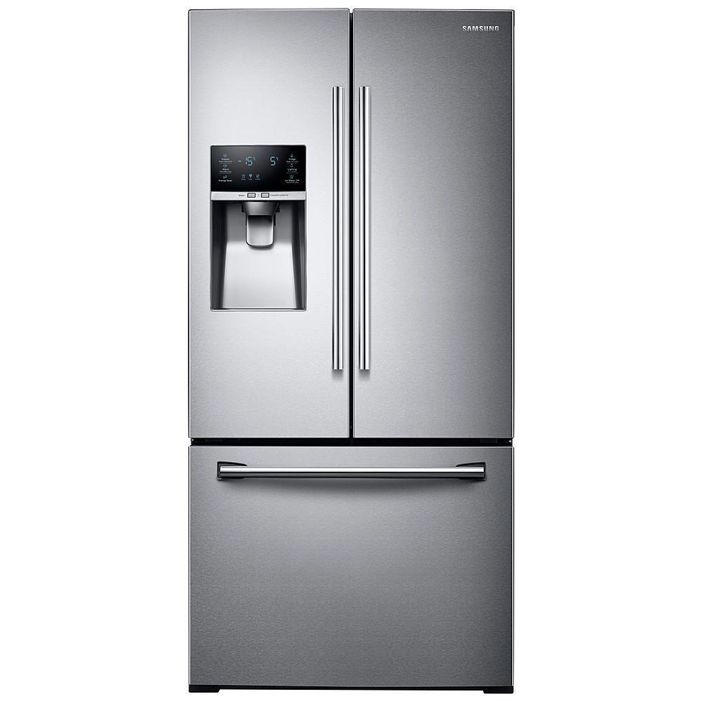 This energyefficient, large capacity refrigerator