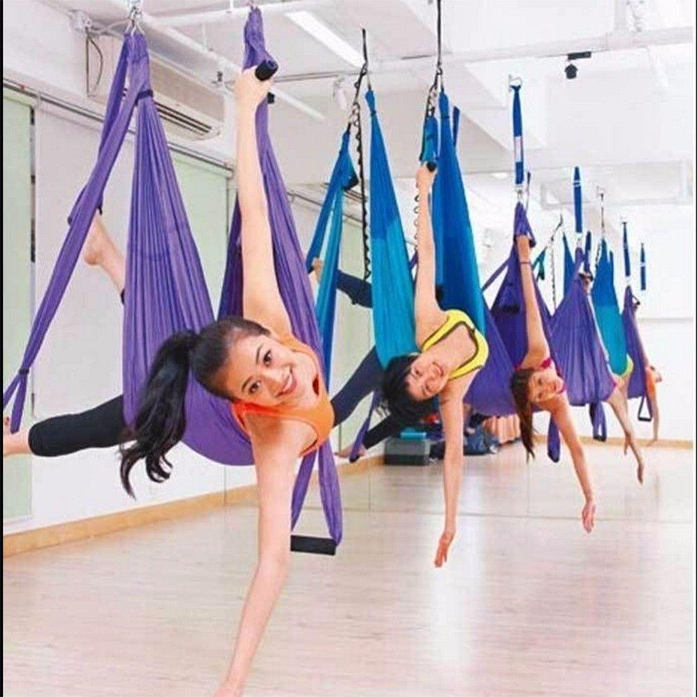 Yoga gym antigravity hammock u yoga online yoga pinterest