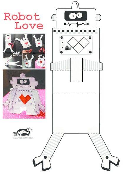 Krokotak Robot Robot Boyama Sayfalari Faaliyetler