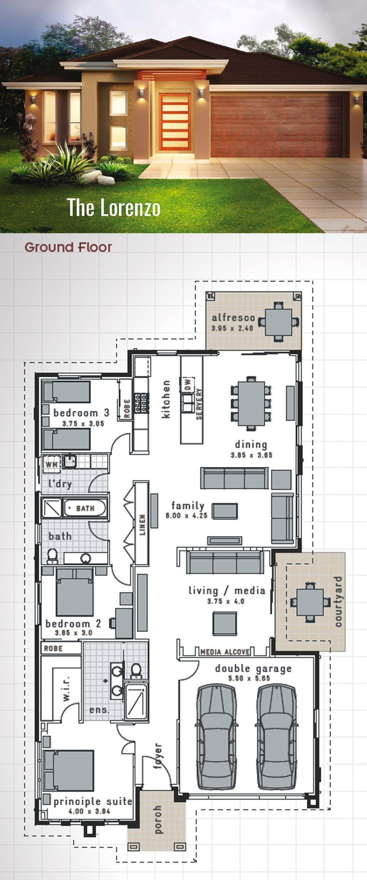 The 25 best ideas about double storey house plans on for 1 story elevator