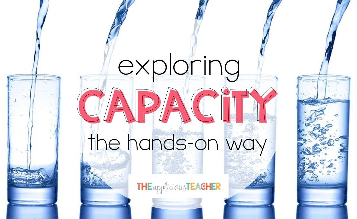Exploring Capacity The Hands On Way With Images