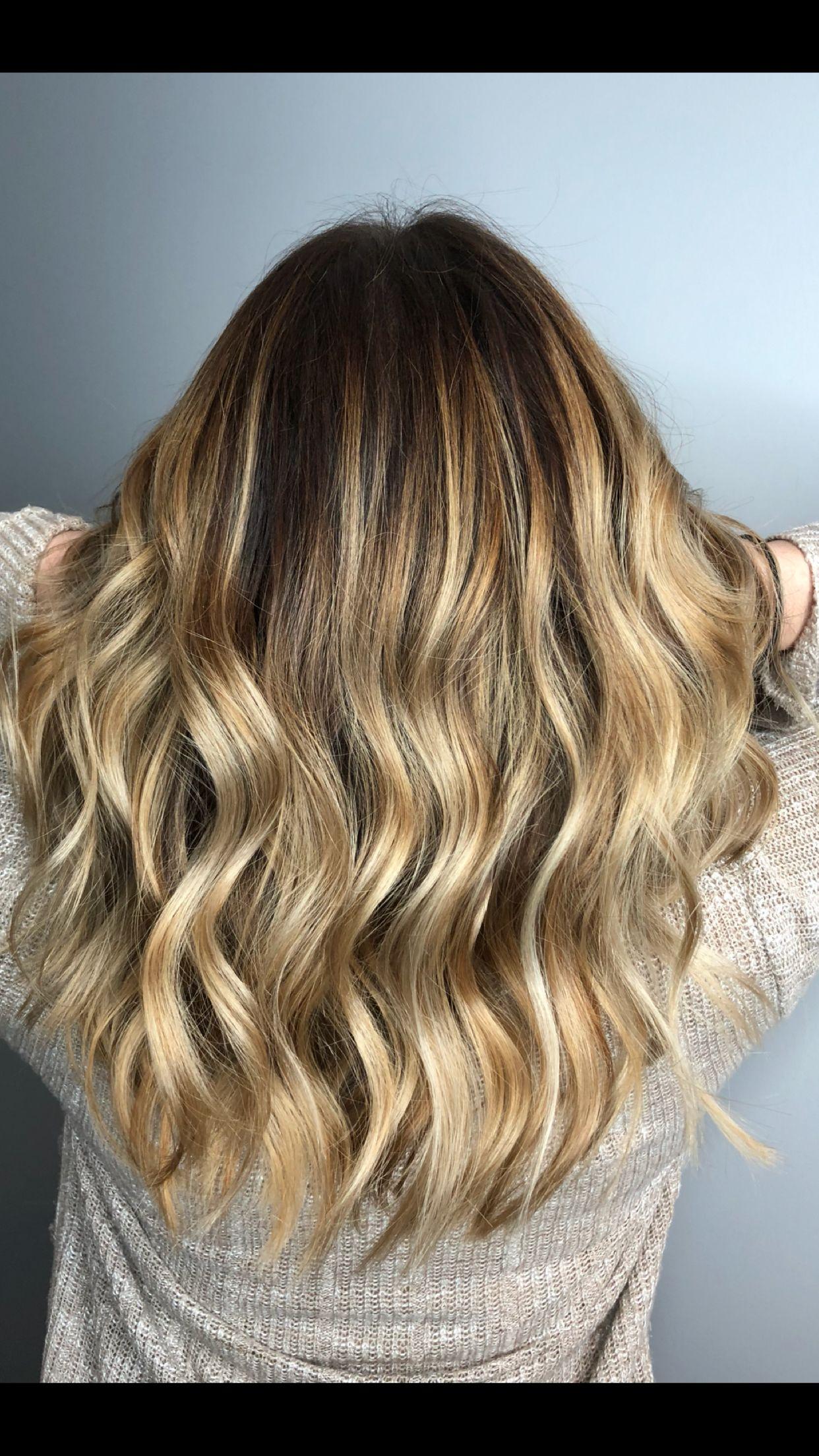 Hair Blonde Caramel Highlight Long Hair Styles Hair Hair Styles
