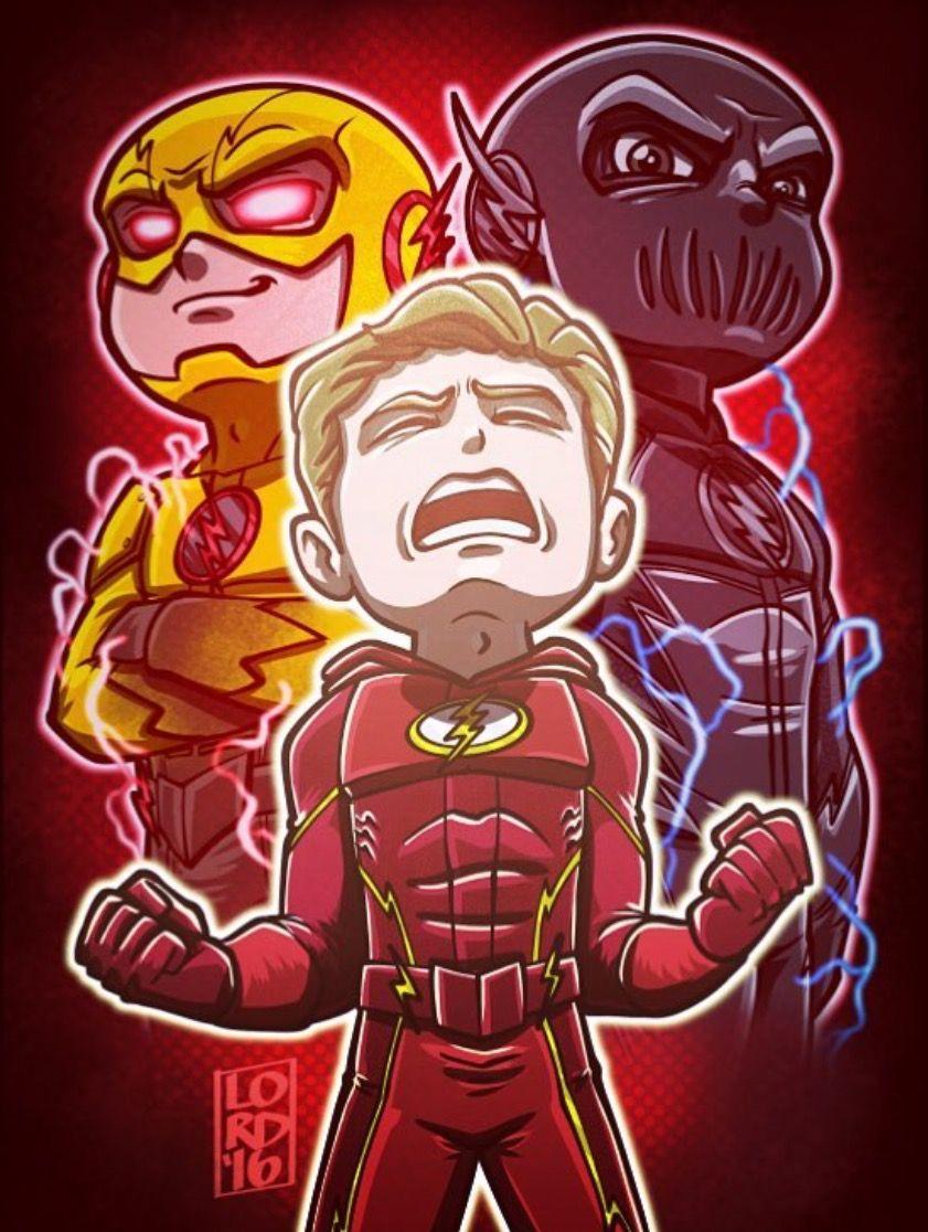 Barry Allen The Flash Professor Eobard Zoom Thawne The