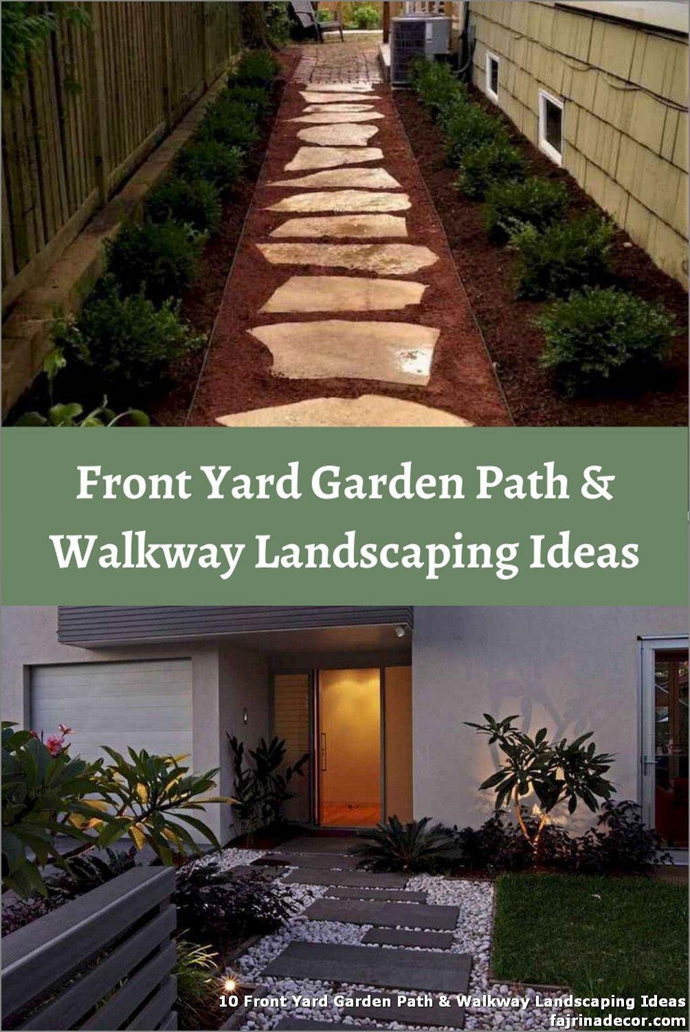 10 Walkway Landscaping Ideas