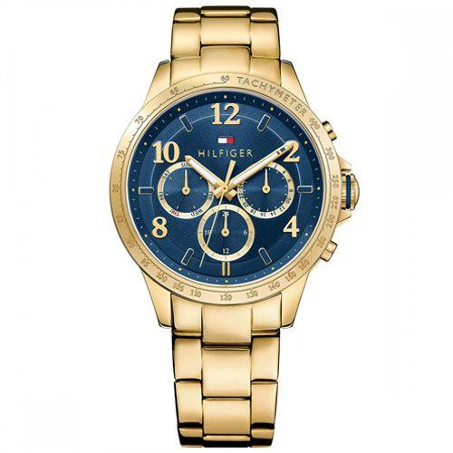 cf6371c037f Relógio Tommy Hilfiger Feminino Aço Dourado - 1781643