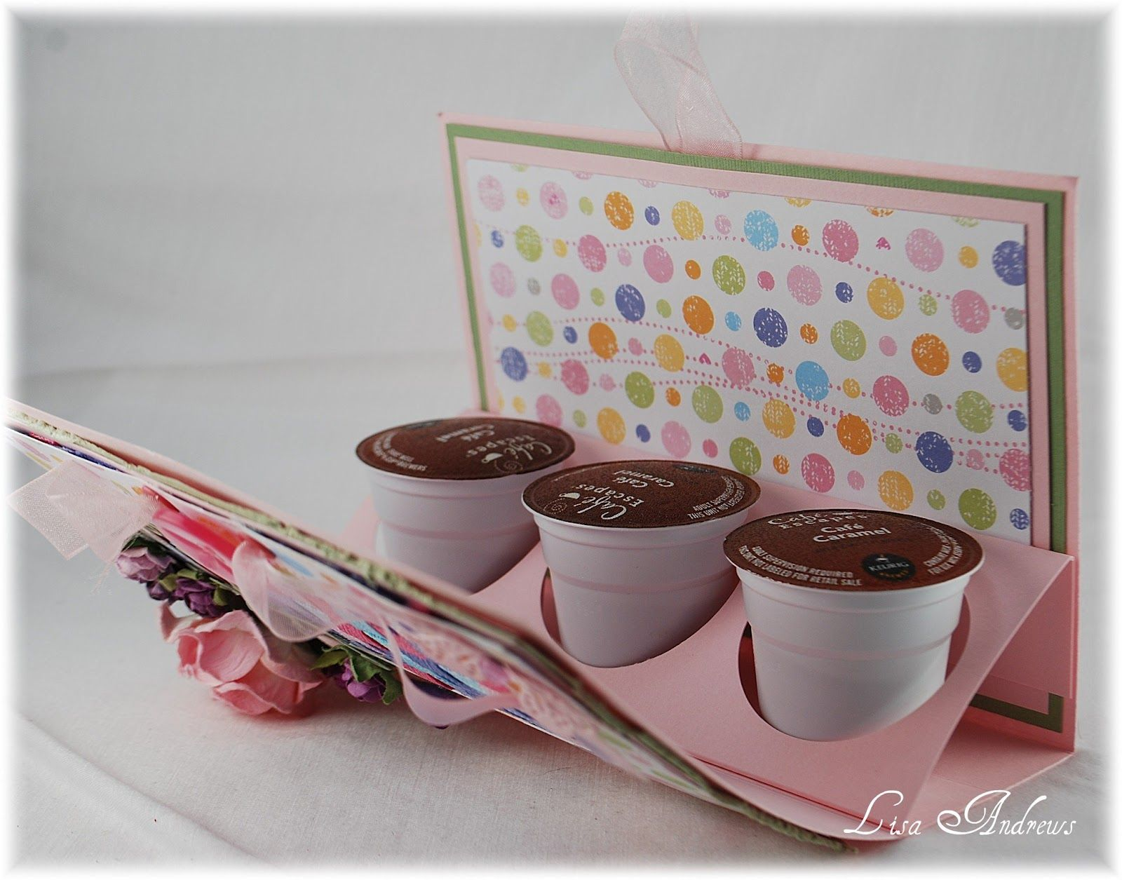 craft ideas with ribbon scor pal tutorial for k cups gift package this would be 3986
