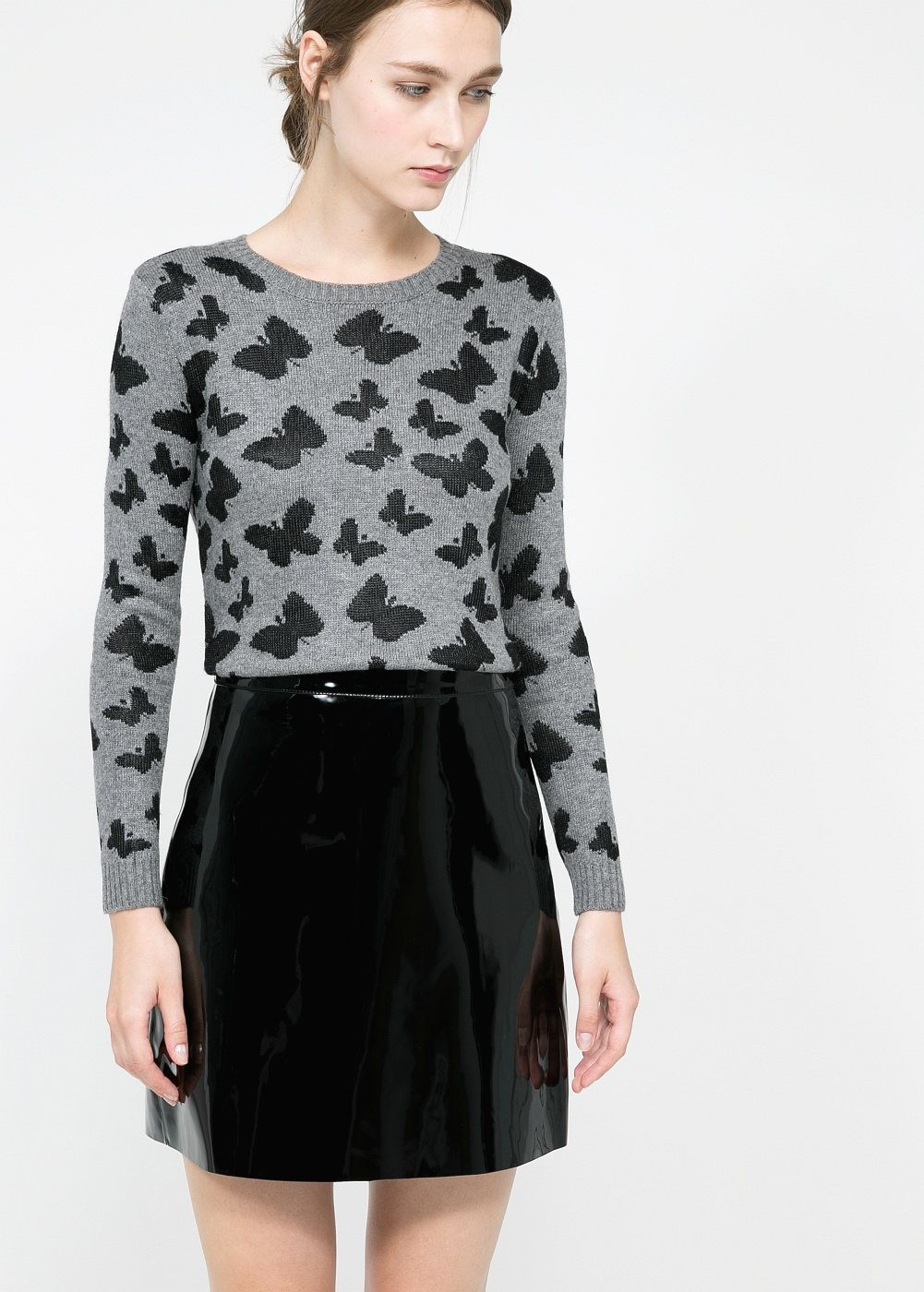 439257c987be Butterfly alpaca-blend sweater - Women