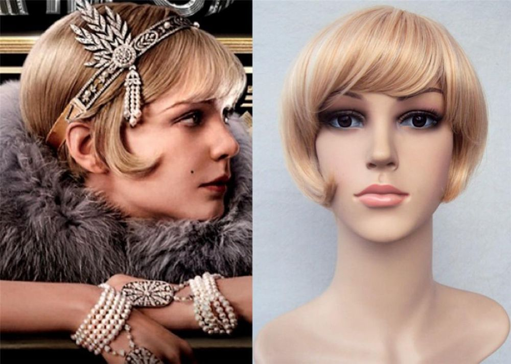 Deluxe Daisy Great Gatsby 1920 S 30 S Blonde Flapper