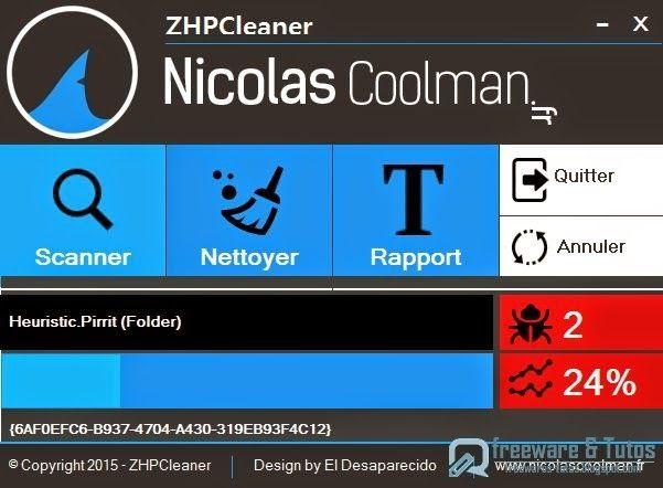 ZHPCleaner : un logiciel gratuit pour désinfecter vos navigateurs