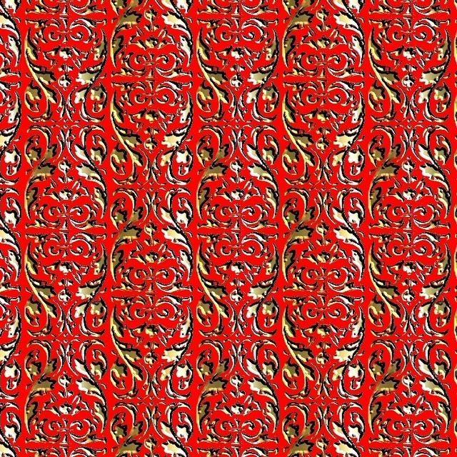 floral pattern30 5x5