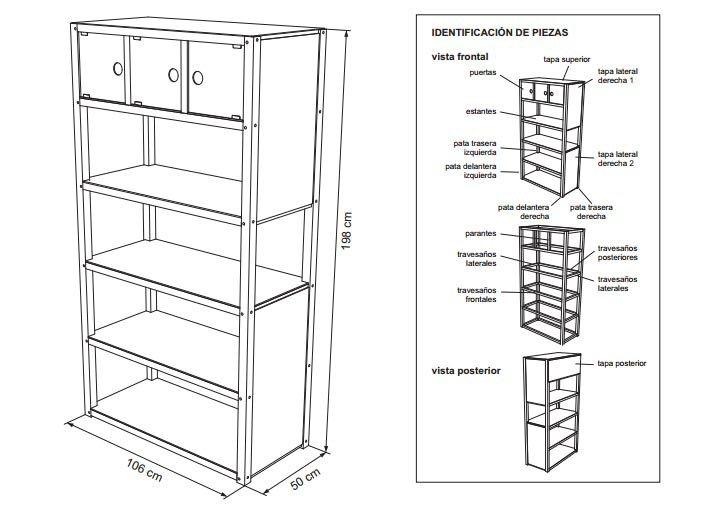 Planos para construir muebles de madera planos muebles for Planos muebles madera