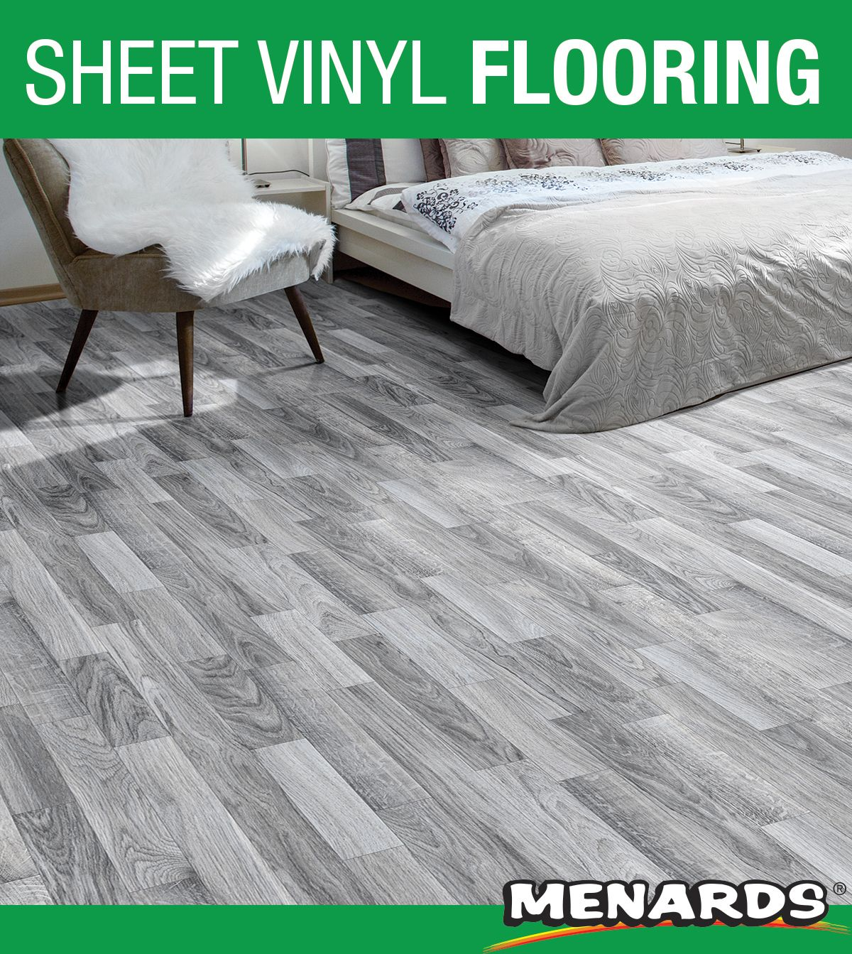 This Harrison Tarkett FIBERFLOOR®, shown in Silver Cloud
