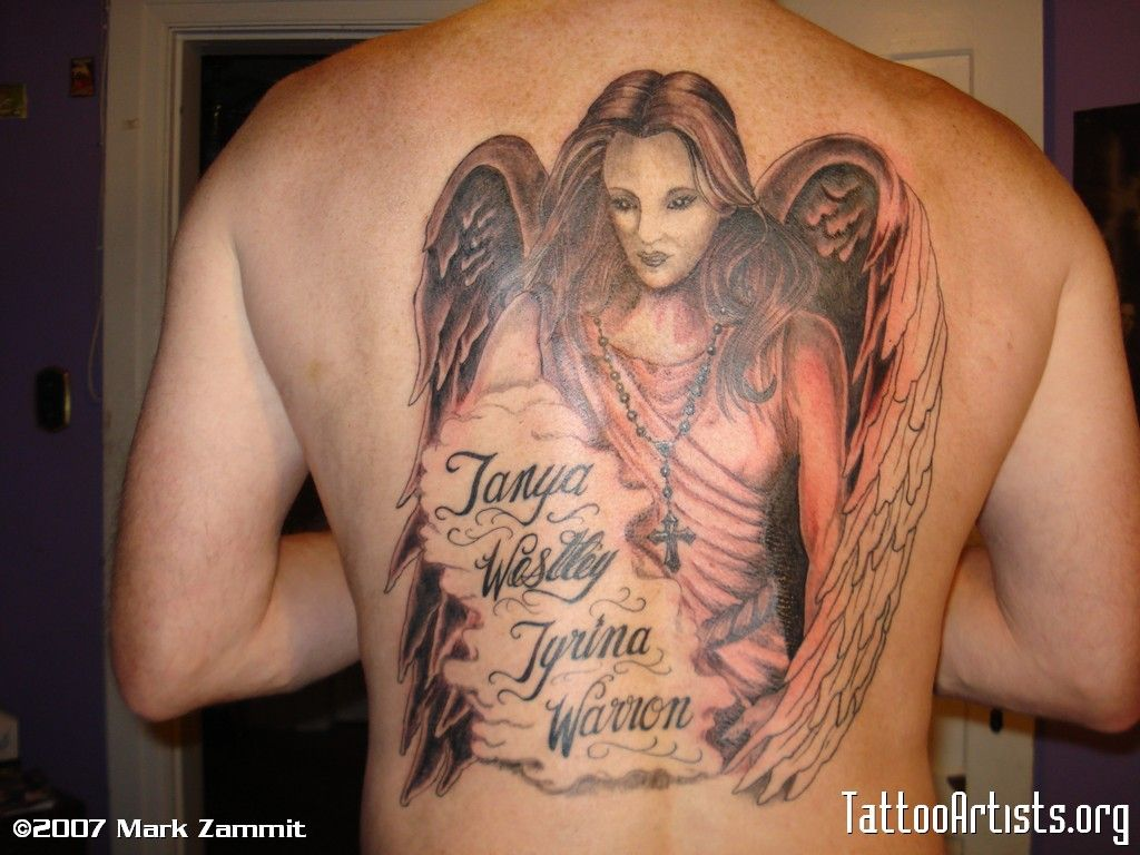 guardian angel with names guardian angel tattoos pinterest guardian angel tattoo. Black Bedroom Furniture Sets. Home Design Ideas