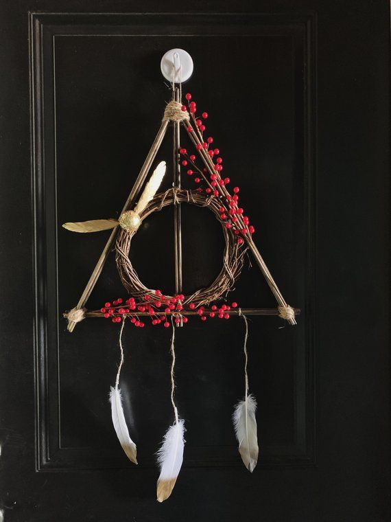 Photo of Deathly Hallows Wreath, Harry Potter Wreath