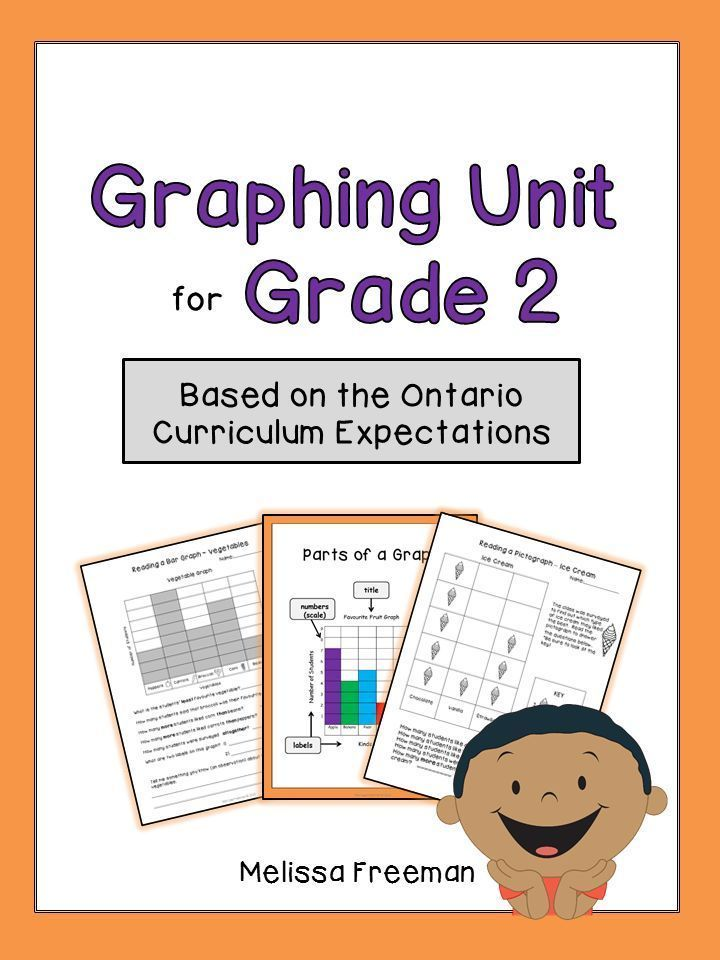 Graphing Unit for Grade 2 (Ontario Curriculum) | Ontario, The o\'jays ...