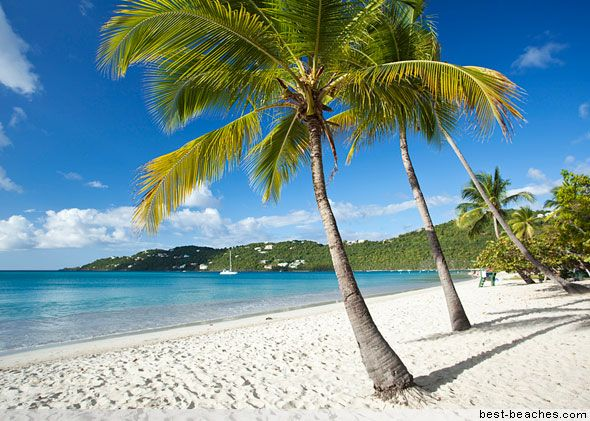 Magens Bay St Thomas Beautiful Clear Water Clean Sand And Great Snorkeling Us Virgin Islandsbritish
