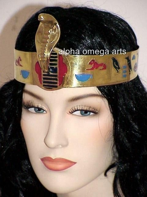 a026ed5d255 cleopatra headband - Google Search Cobra Snake