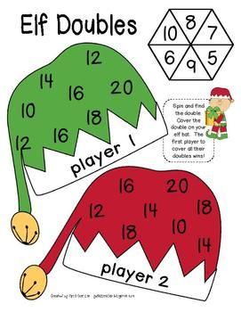 Christmas Math Games For 1st Grade Christmas Math Games Christmas Math Math Games